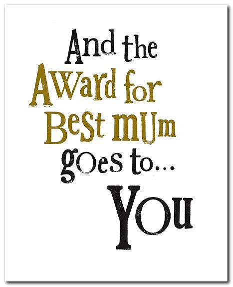award-for-best-mum